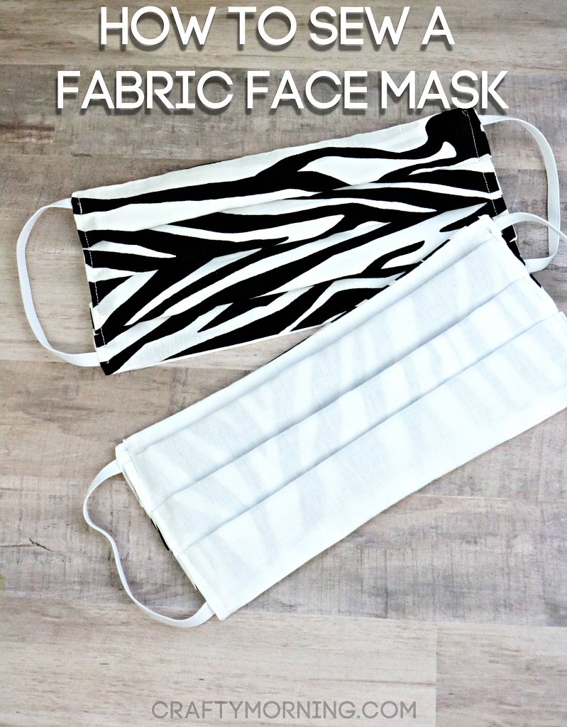How to Sew a Fabric Face Mask (Tutorial)