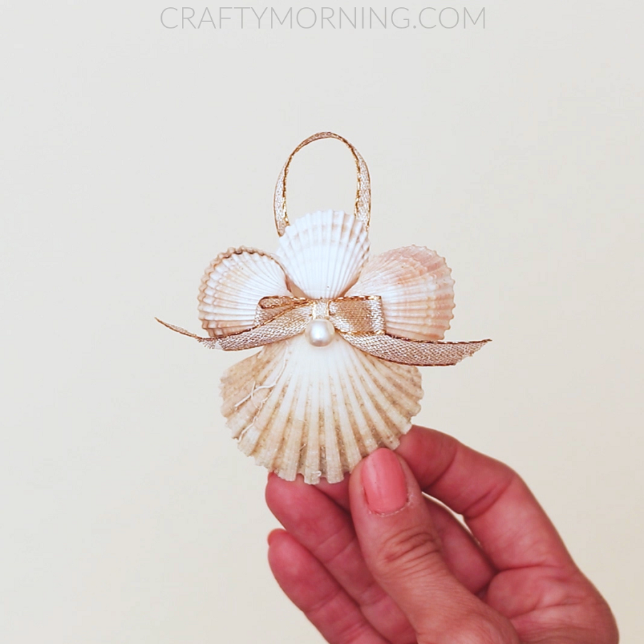 Seashell Angel Ornaments