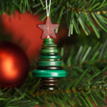 How to Make a Button Christmas Tree Stack Ornament