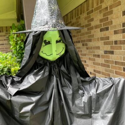 Dollar Tree Milk Jug Witch
