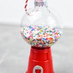 Mini Red Solo Cup Gumball Machine Ornament