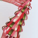 Ribbon Loop Christmas Tree Craft