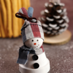 Clay Pot Snowman Craft