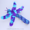 Egg Carton Dragonfly Craft for Kids