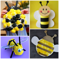 Buzzworthy Bee Crafts for Kids to Make