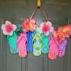 Flip Flop Wreaths for Summer