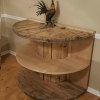 Repurposed Spool Table