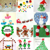 Christmas & Winter Fingerprint Craft Ideas For Kids